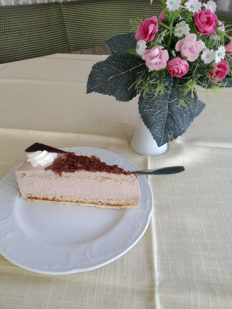 Kuchen im Cafe Voss Malente