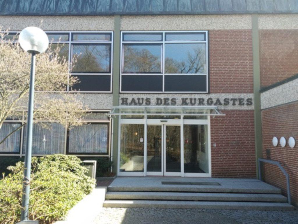 Eingang Haus des Kurgastes Malente