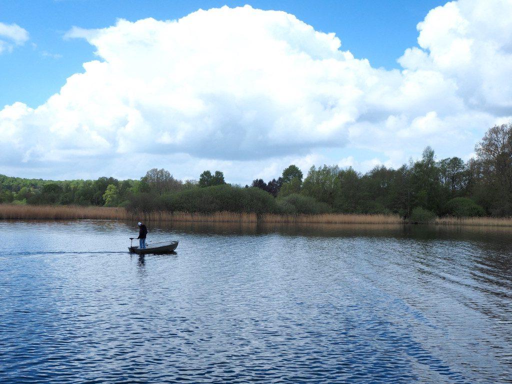 Angler auf dem Kellersee