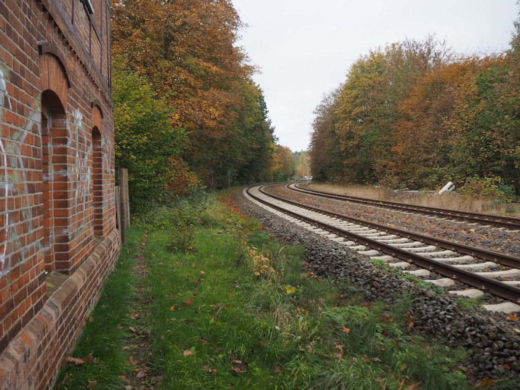 Bahngleise nach Malente