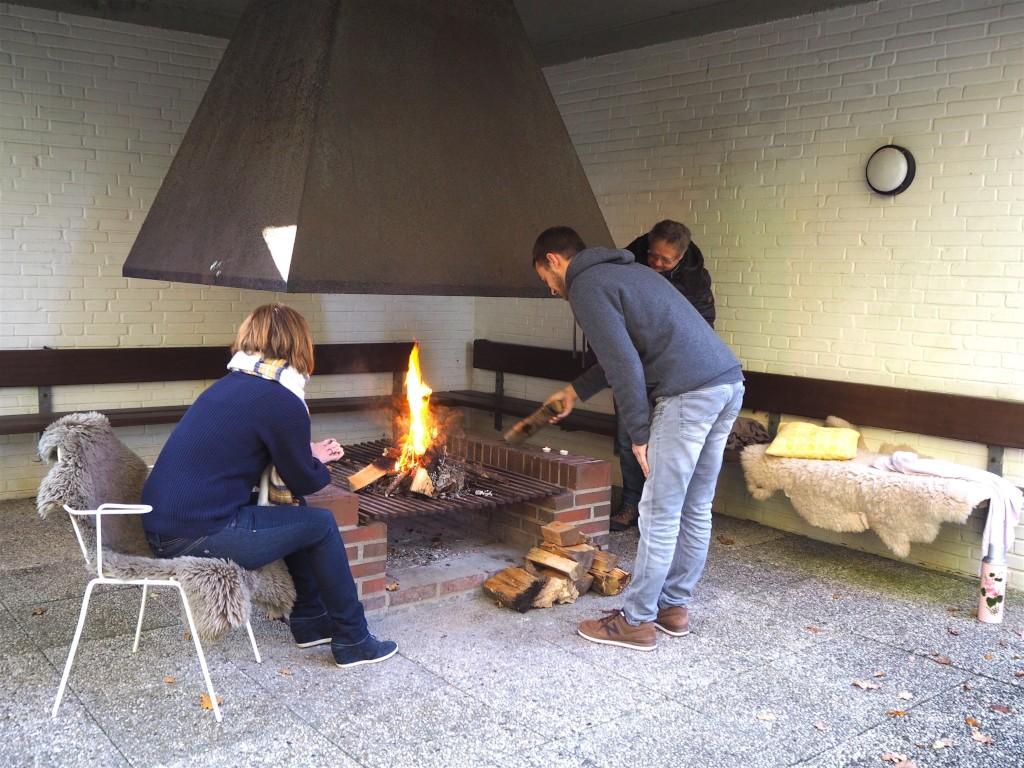 Warm und gemütlich: Kaminhäuschen im Kurpark Malente