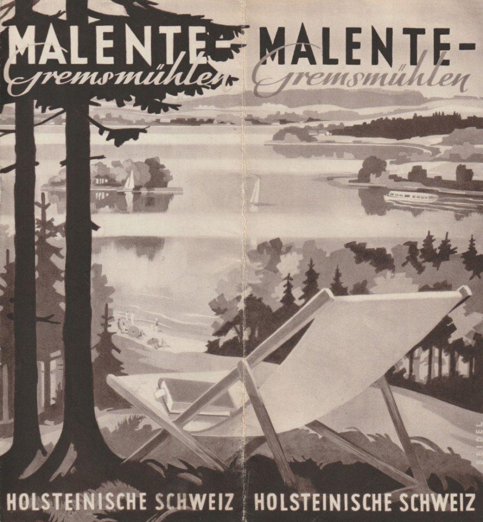 Malente Prospekt 1950