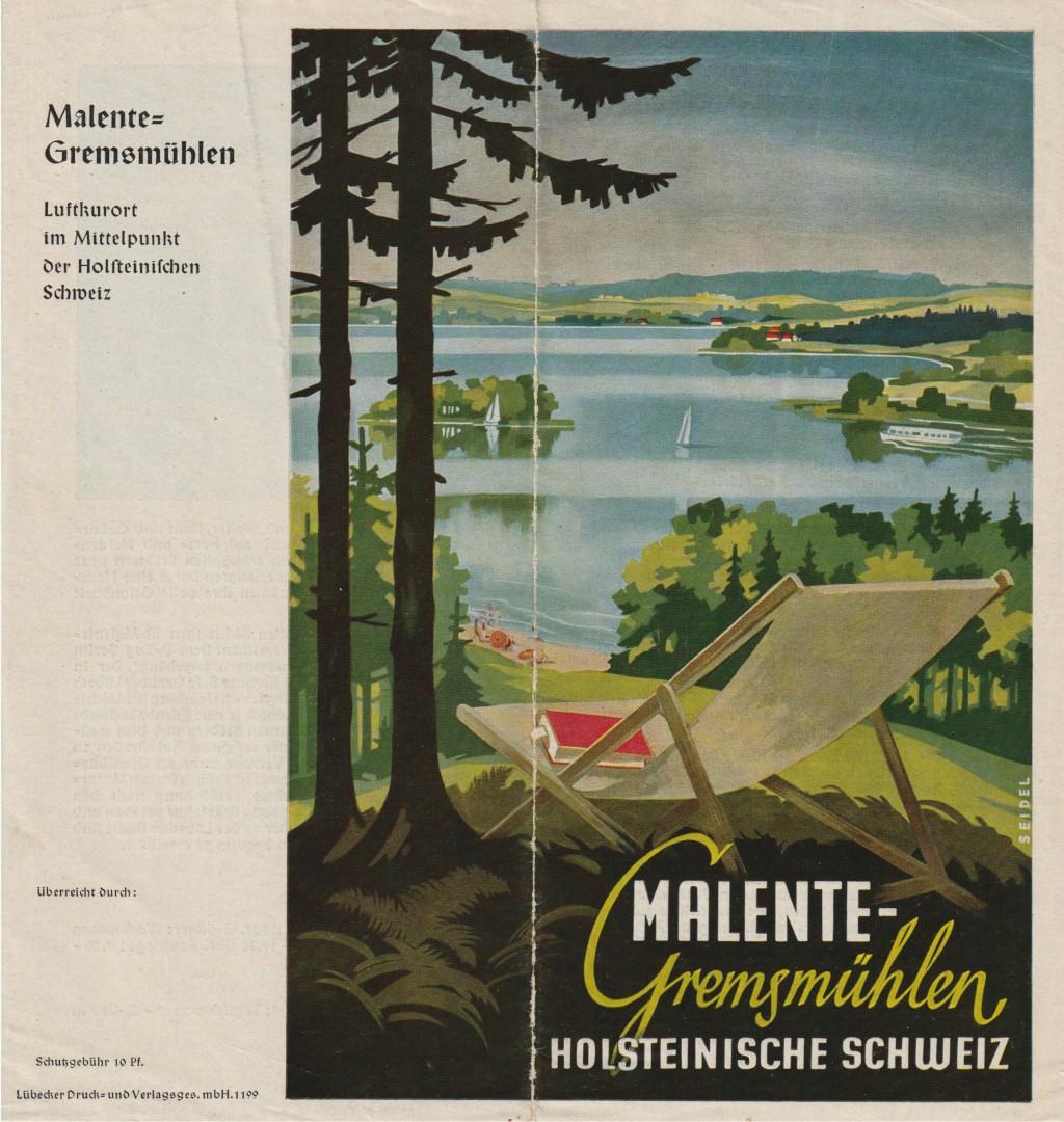 Malente Prospekt 1950-53