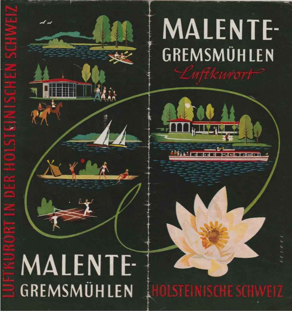 Malente Prospekt 1954
