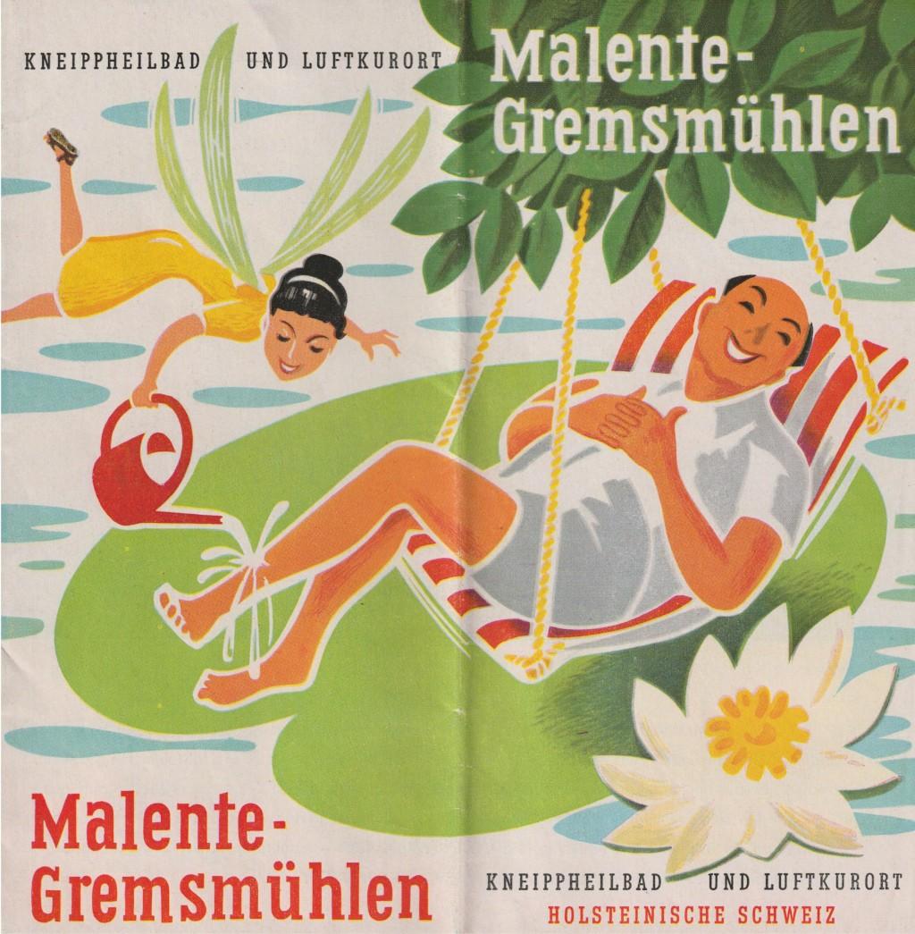 Malente Prospekt 1957