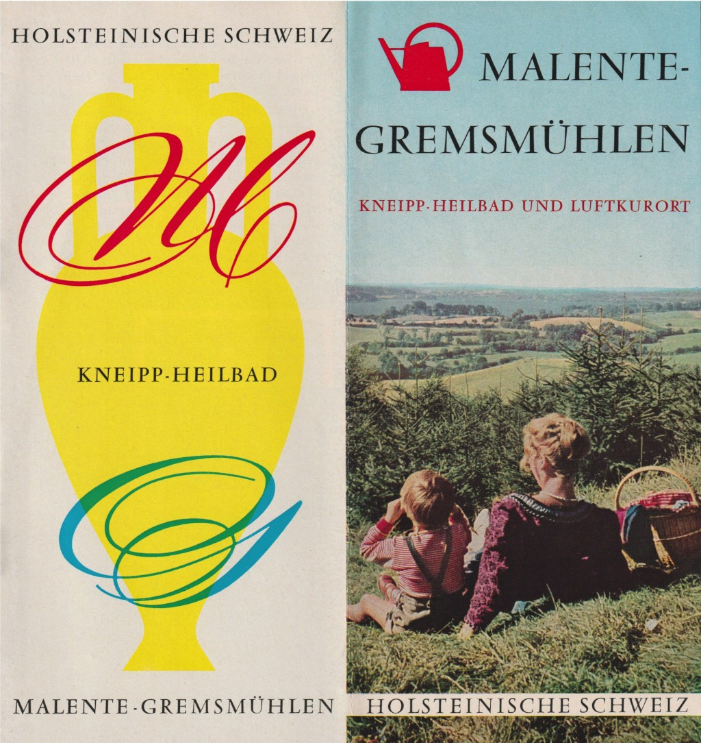 Johann-Ernst Seidel: Malente Prospekt 1960