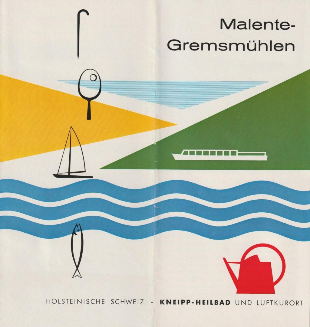 Johann Ernst Seidel: Malente Prospekt 1962