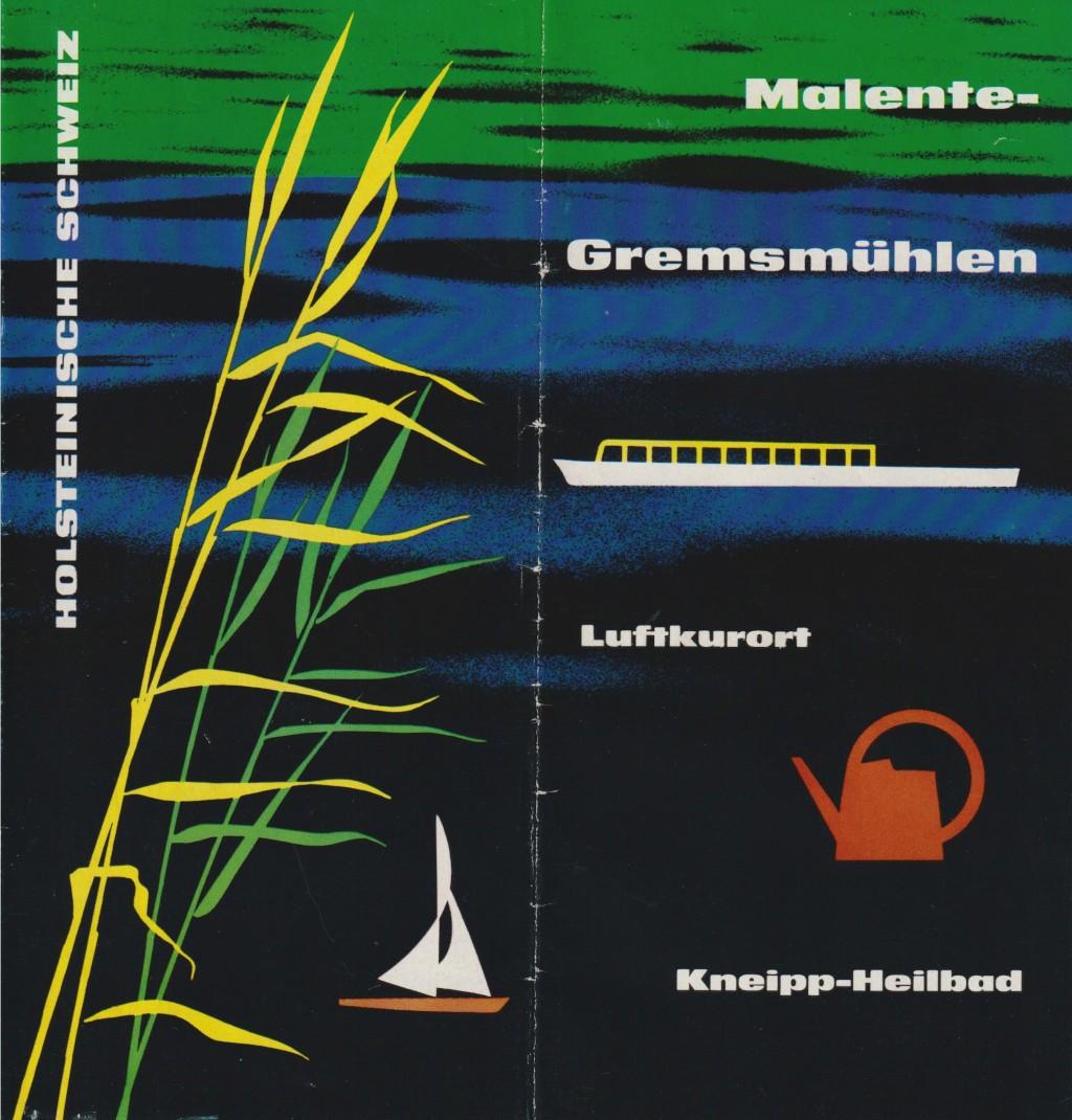 Johann-Ernst Seidel: Malente Prospekt 1963