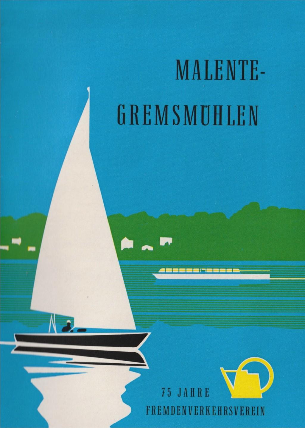 Johann-Ernst Seidel: Malente Prospekt 1967