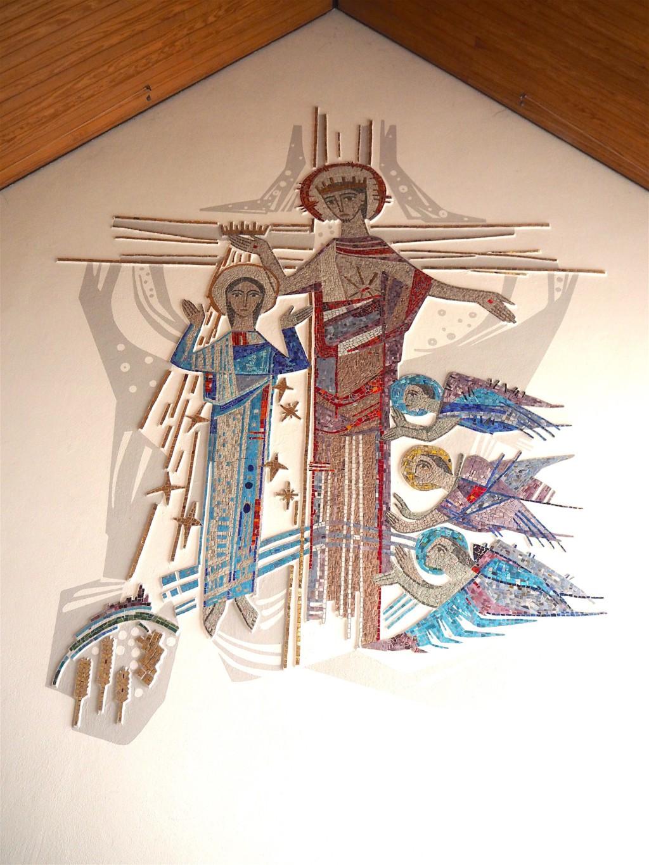 St. Marien Kirche - Mosaik