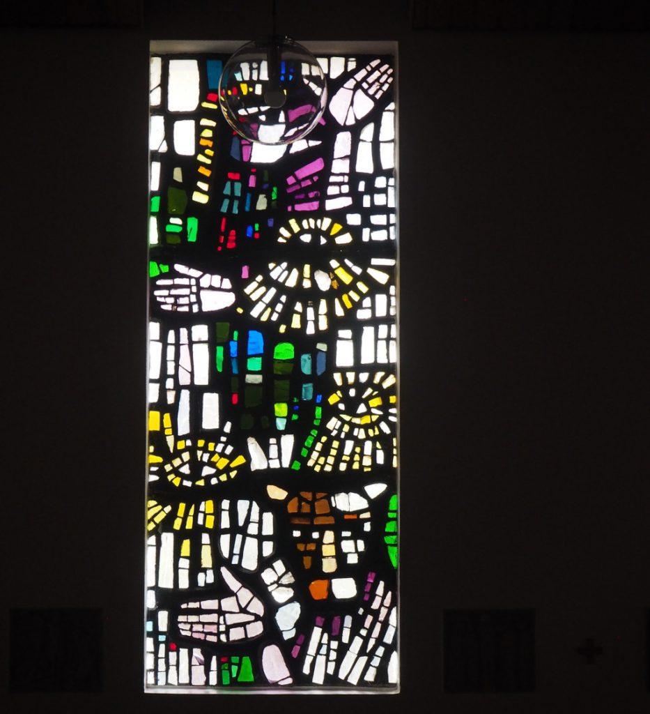 St. Marienkirche - Mosaikfenster