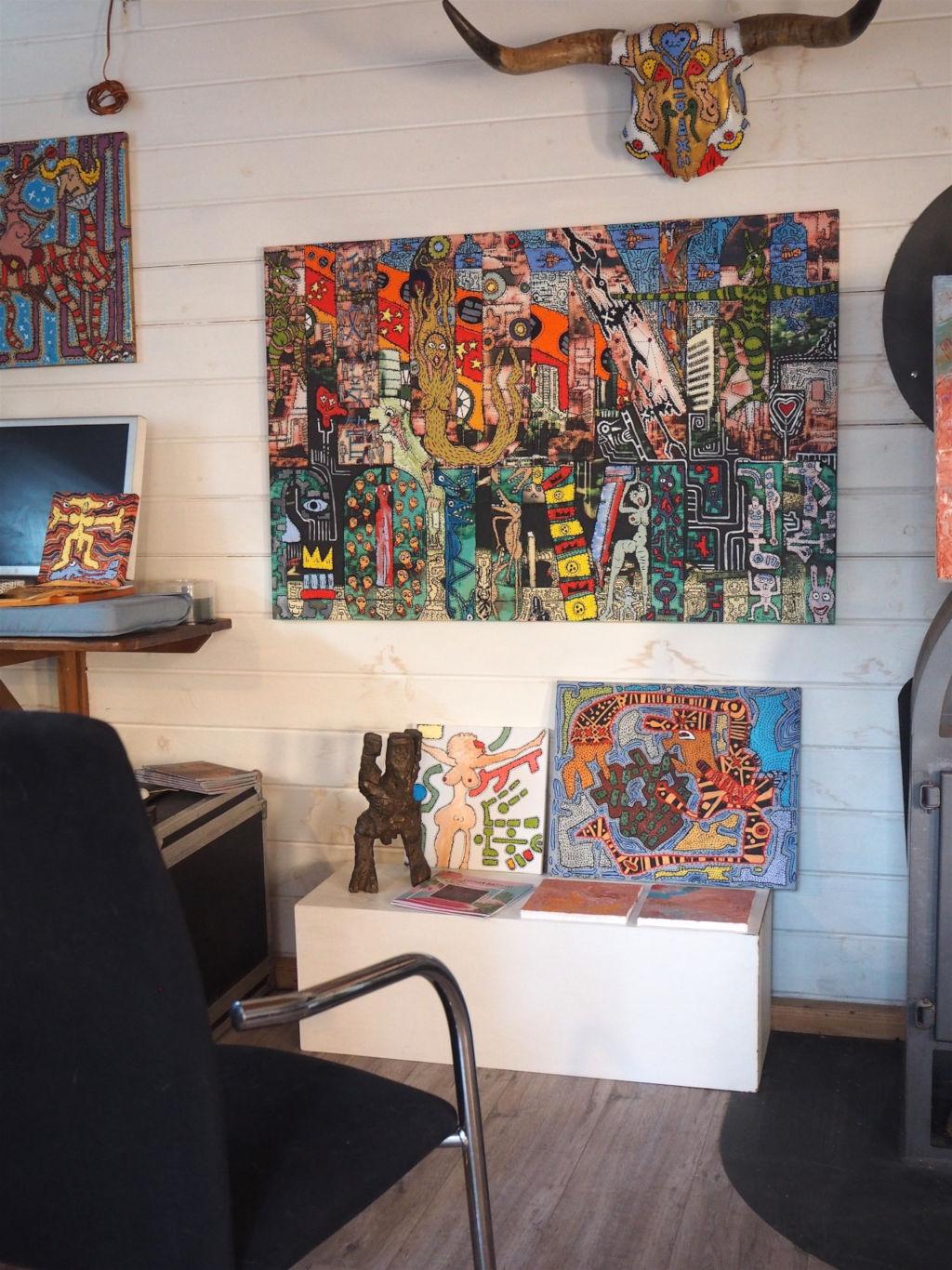Atelier von Lothar Mattejat