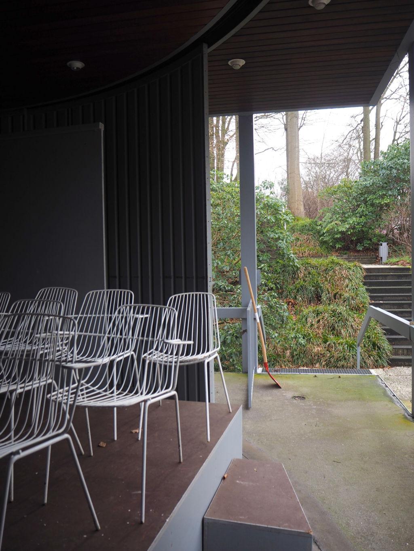 Acco Chairs in der Musikmuschel im Kurpark Malente