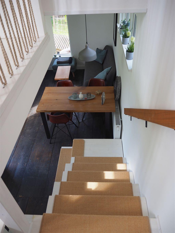 Urlaubsarchitektur vom Feinsten Geländer aus Tauen im Tiny House