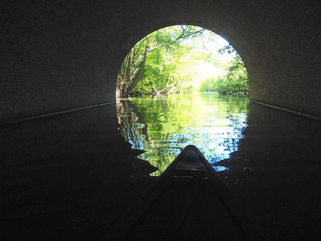 Hinter dem Tunnel wird es richtig schön