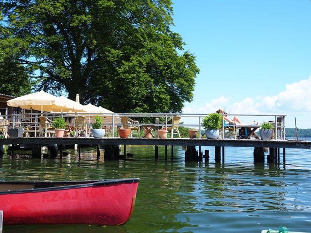 Zwischenstopp im Fischbrötchencafe am Kellersee