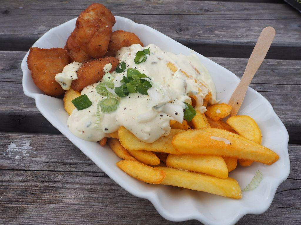 Fisch & Chips gehen immer
