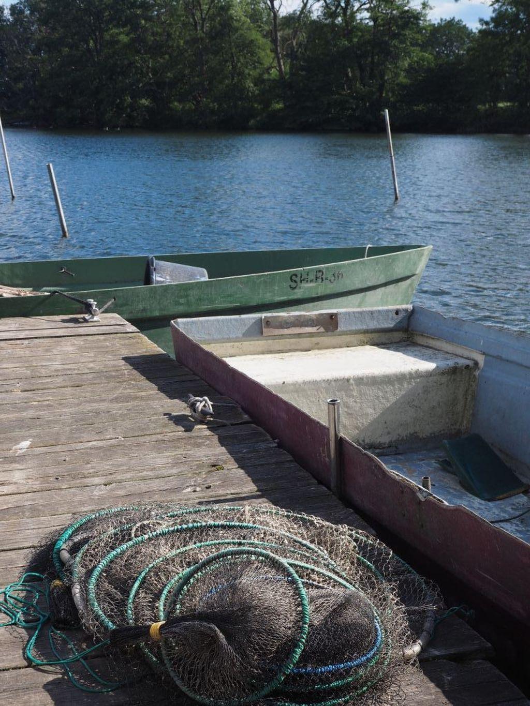 Zubehör von Heikos Bruder für seine Fischzucht