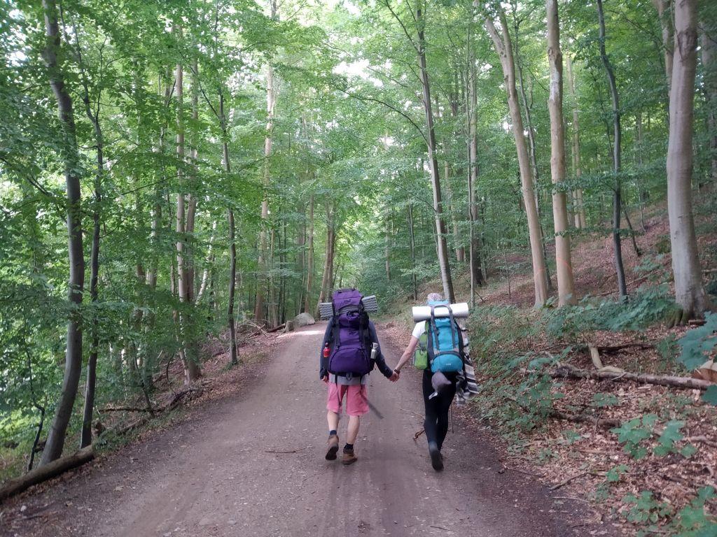 5-Seen-Fahrt zu Fuß und durch den Wald