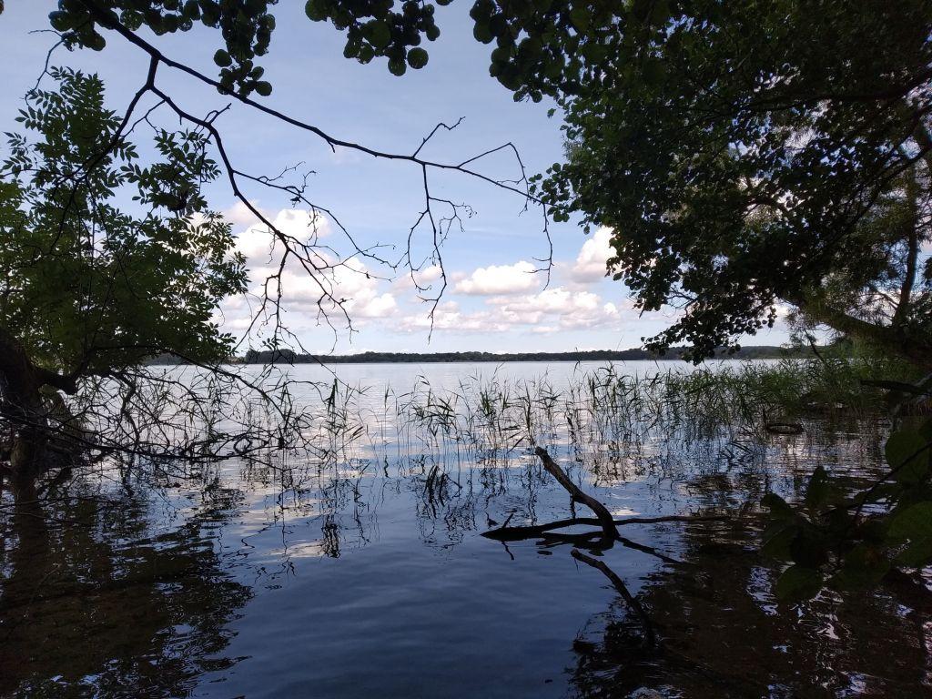 5-Seen-Fahrt zu Fuß mit Blick auf den Behler See
