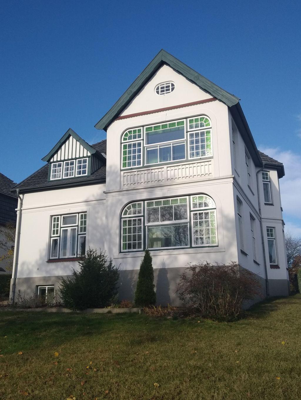 Bäderarchitektur - Villa mit Jugendstil-Elementen in der Lindenallee