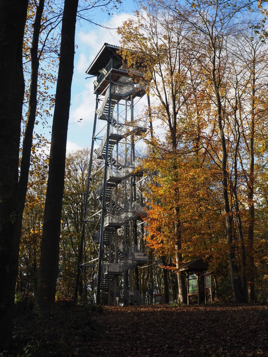 Holzbergturm bei Neversfelde