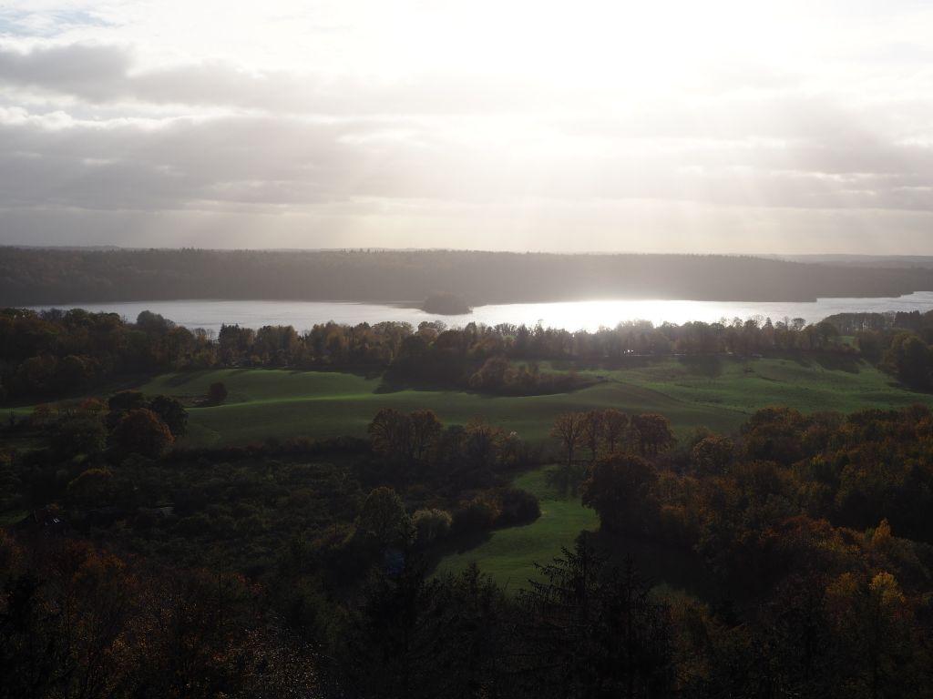 Goldener Herbst vom Holzbergturm aus