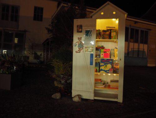 Bücherschränke am Wegesrand