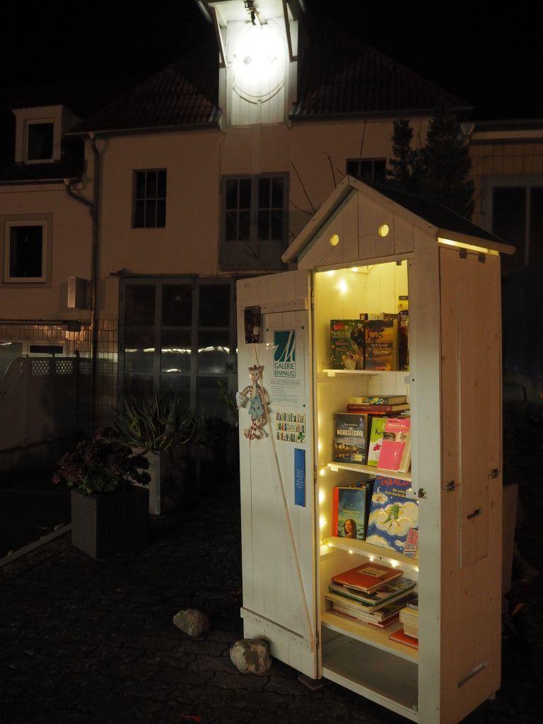 Bücherschränke - hier in der Malenter Friedrichstraße