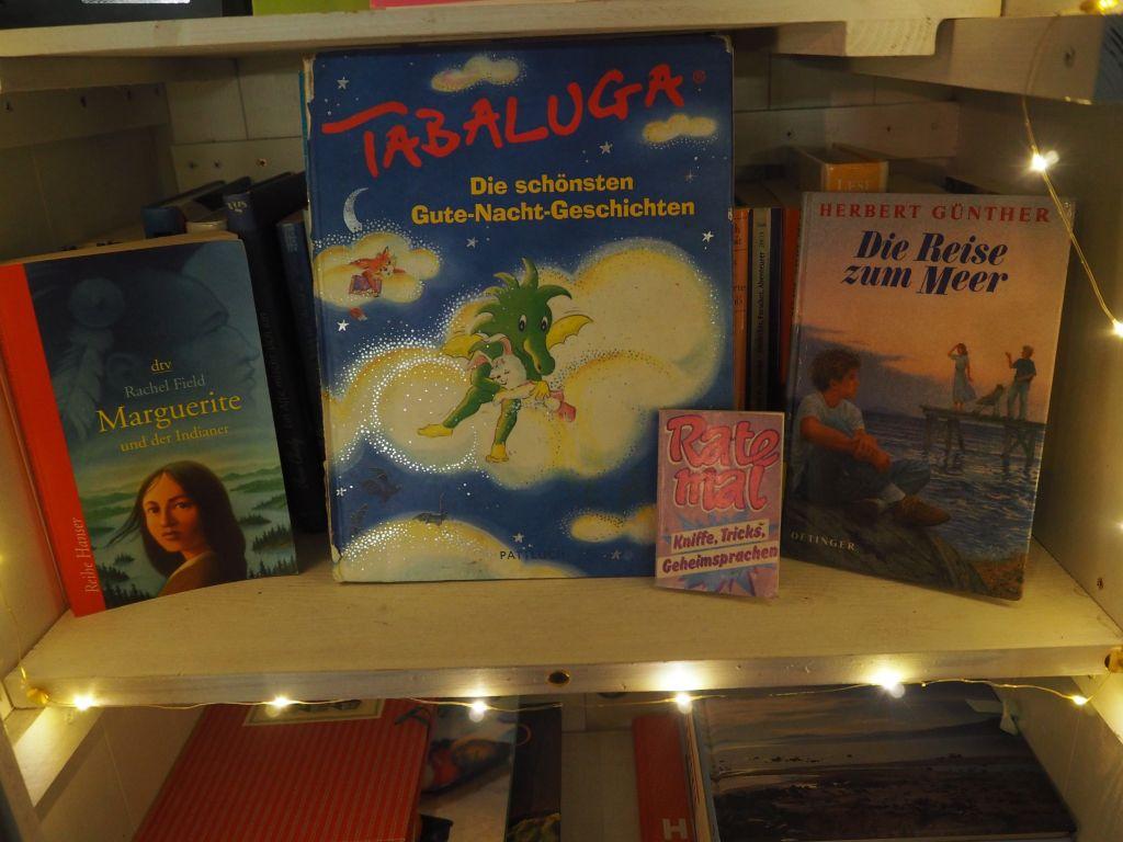 Bücherschränke mit Kinder- und Jugendbüchern