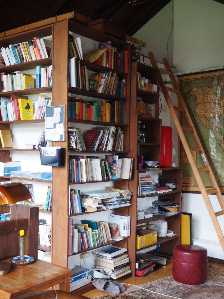 Vito von Eichborns Arbeitszimmer
