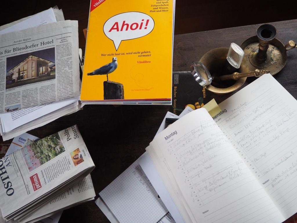 Stets griffbereit - das Notizbuch