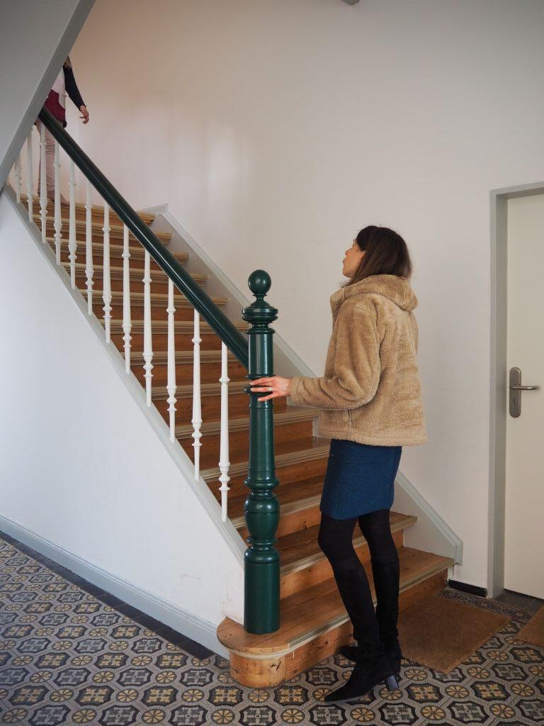 Treppenhaus der Gründerzeit-Villa