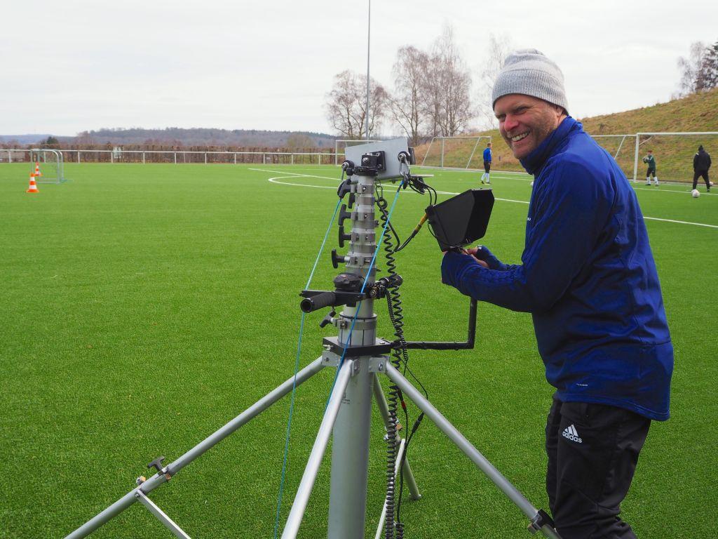 Hightech hilft auf dem Weg in die Fußballnationalmannschaft