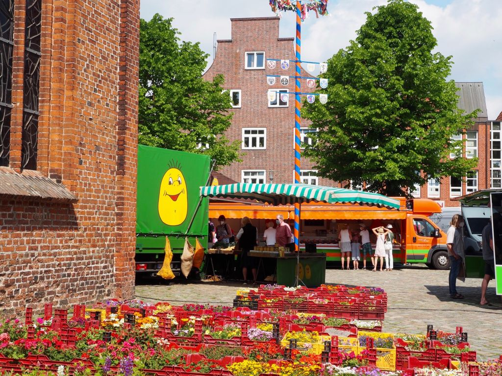 Wochenmarkt in Plön