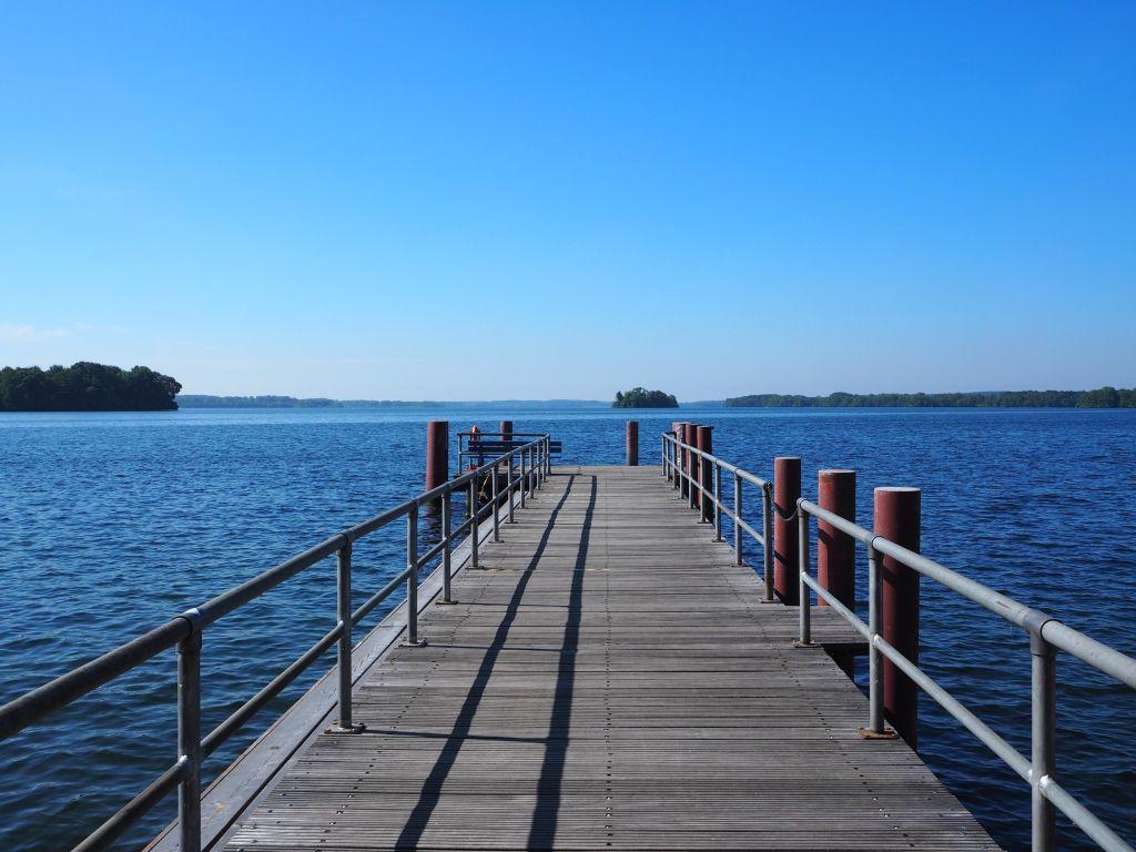 Bootsanleger am Großen Plöner See