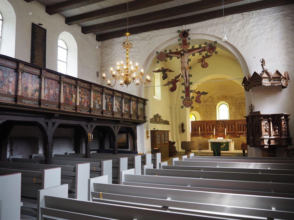 Die Kirche dient als Veranstaltungsort