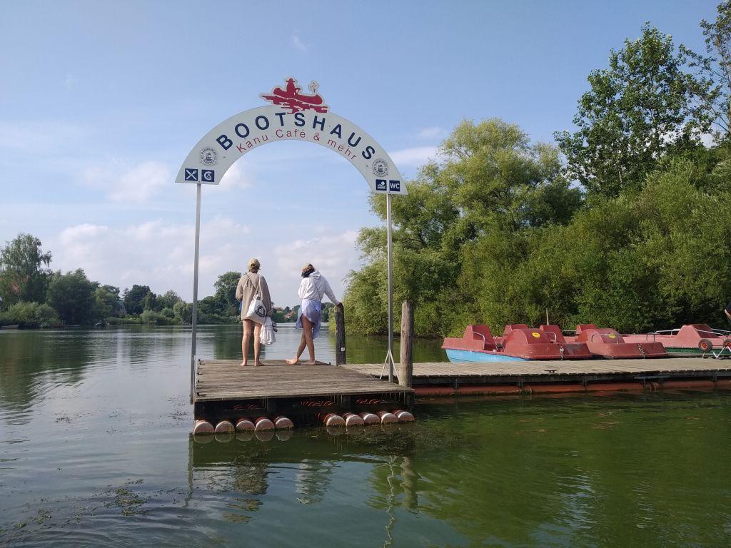 Einsetzstelle am Bootshaus in Preetz