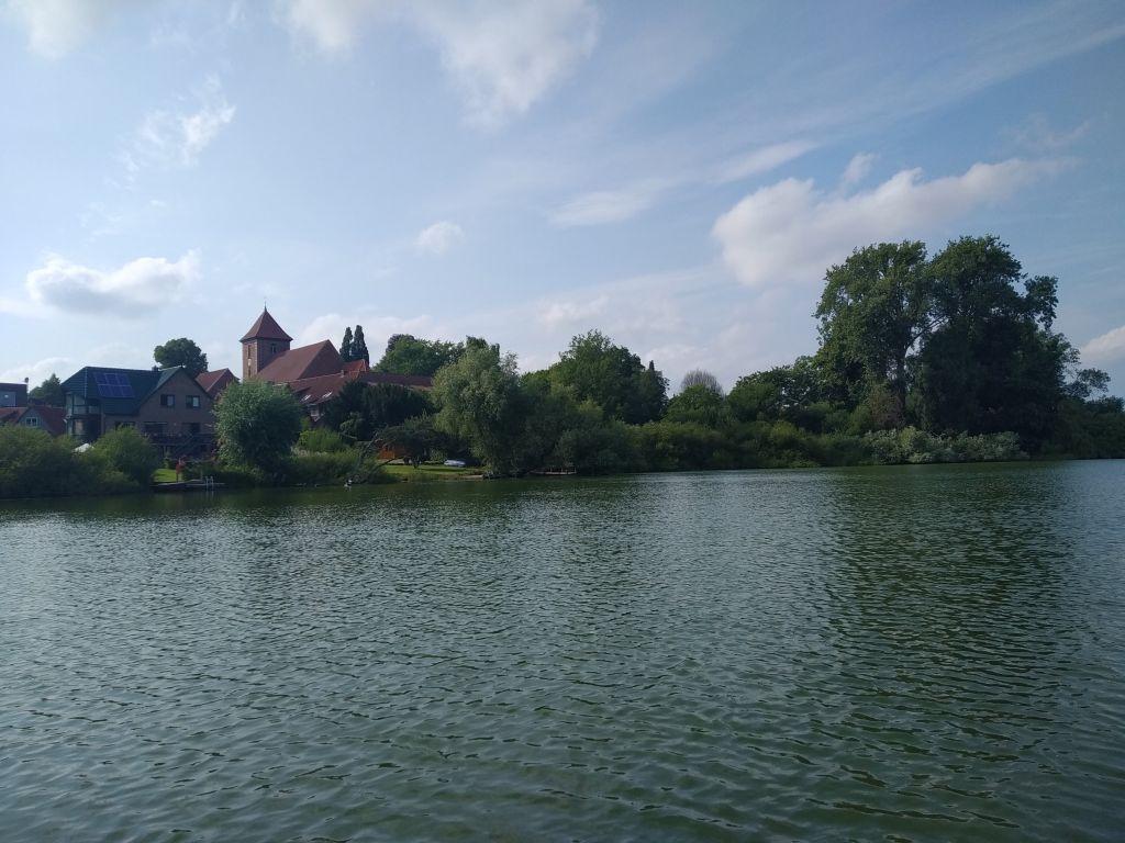 Das Städtchen Preetz am Lanker See